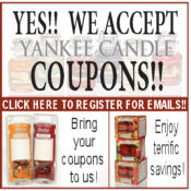 Yankee Candle Sign Up for Emails